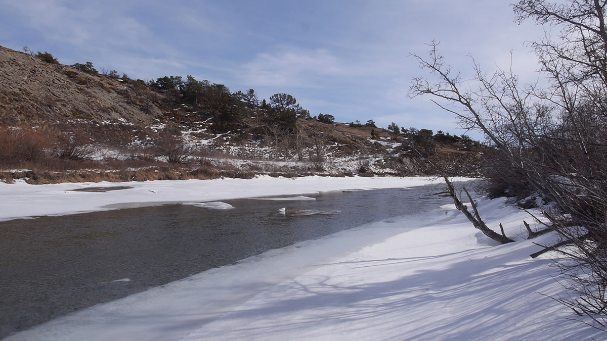Special Still: Badger Creek thawing