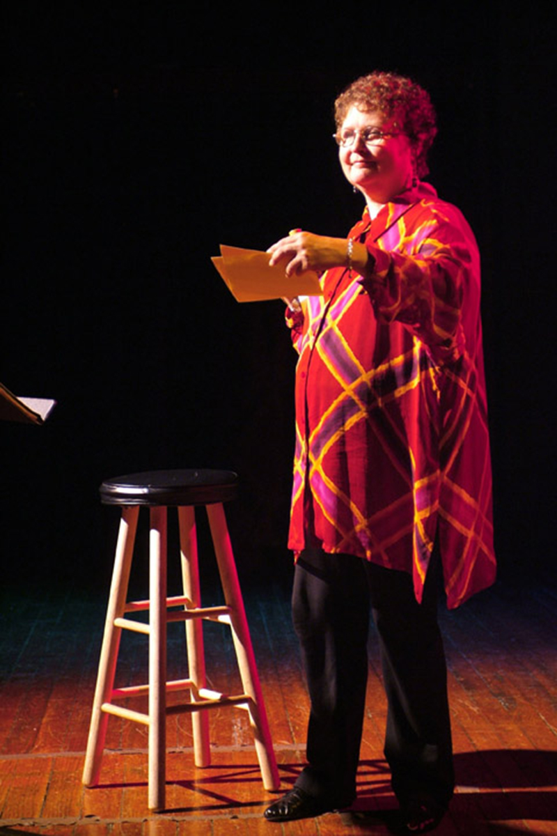 Caris' Peace one-woman show at The Flea Theatre