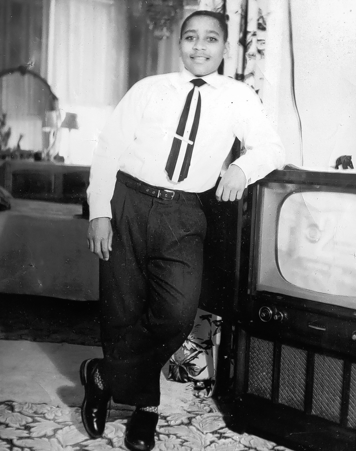 Photo of Emmett Louis Till circa early 1950s