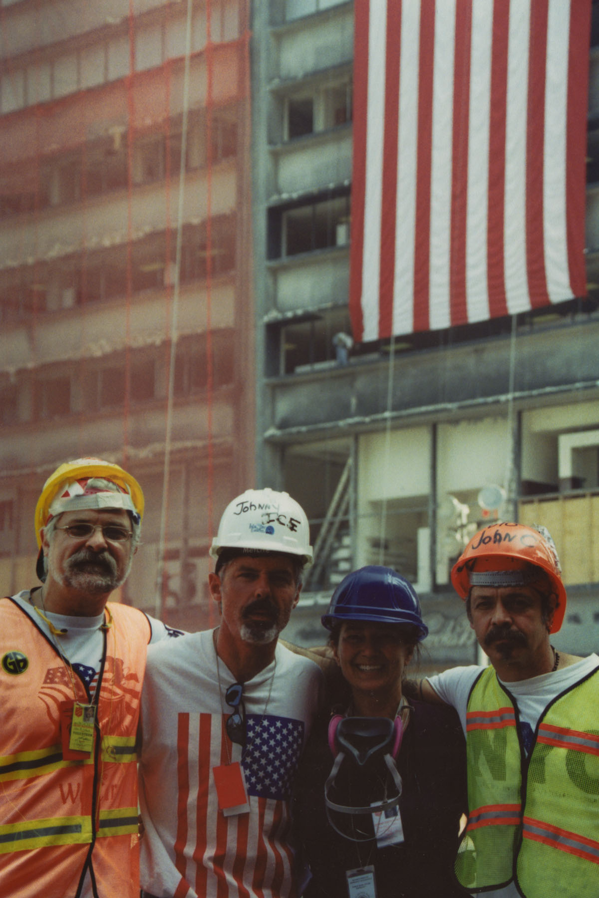 New Yorkers within Ground Zero